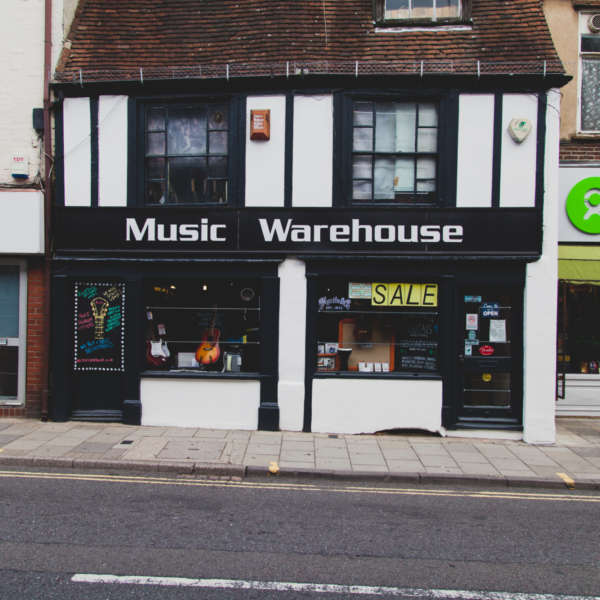Shop front image of Music Warehouse
