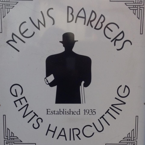 Mews Barbers logo