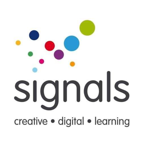 Signals Media Arts Centre logo