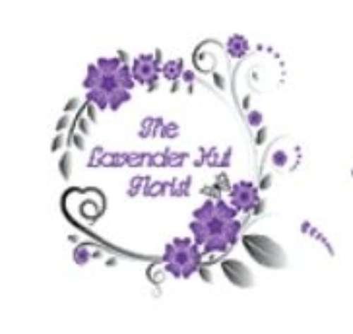 The Lavender Hut Florist logo