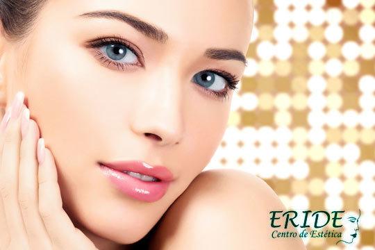 Limpieza facial profunda con aplicación de Alta Frecuencia para la desinfección de la piel y cerrado de poros en Eride ¡Renovación total!