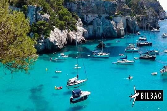 Verano en Menorca con vuelo de Bilbao + 7 noches en estudio ¡Últimas plazas!