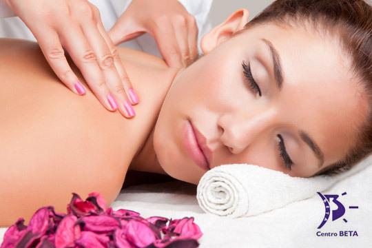 Acércate  a la academía de Peluquería y Estética Beta y deja que tu cuerpo y mente se relajen como nunca con 1, 3 o 5 sesiones de masajes