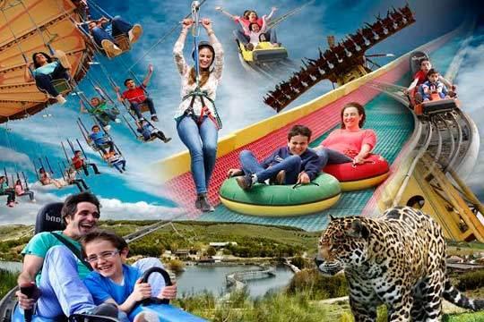 Disfruta de 1 o 2 días en Sendaviva: animales, atracciones, actividades acuáticas... ¡Diversion en familia!