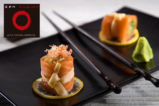 Degusta un auténtico menú oriental de alta cocina en Zen Fusión Restaurante