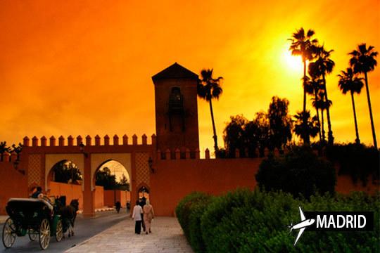 Descubre Marrakech con un viaje de 4 noches con desayuno en los hoteles Riad y con vuelo directo desde Madrid