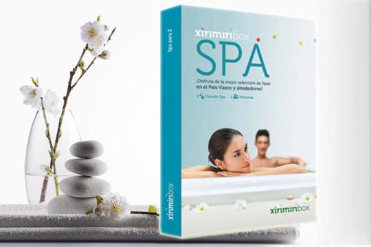 Una relajante sesión de Spa para dos personas por solo 34,9€ con XirimirBox ¡A elegir entre más de 30 centros termales!