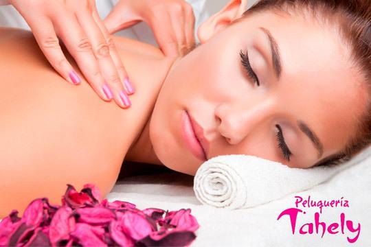 Relájate en el centro Tahely con 1 o 3 sesiones de masaje corporal con aromaterapia