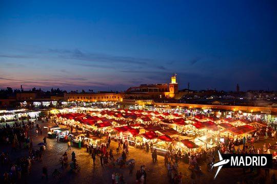 En 2018 déjate seducir por Marrakech ¡Vuelo directo desde Madrid + 4 días con desayunos en los hoteles Riad!