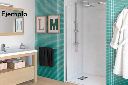 Sustituye la bañera por plato de ducha ¡Incluye mano de obra y opción a plato de ducha y mampara!