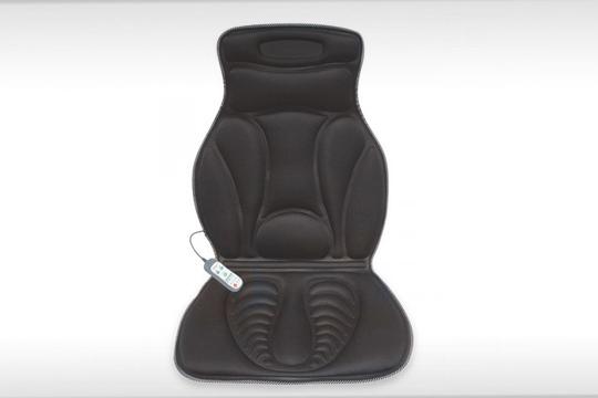 Este asiento de masajes te permite relajar mientras estás sentado en el sofa de casa, en la silla de la oficina o en el asiento de tu coche ¡Con función calor para destensar la musculatura!