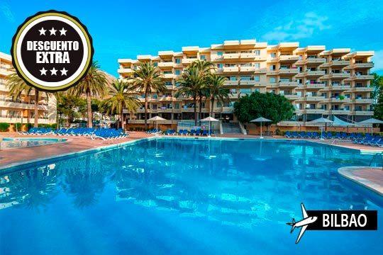 ¡Escápate a Mallorca este verano! Vuelo desde Bilbao + 7 noches en media pensión