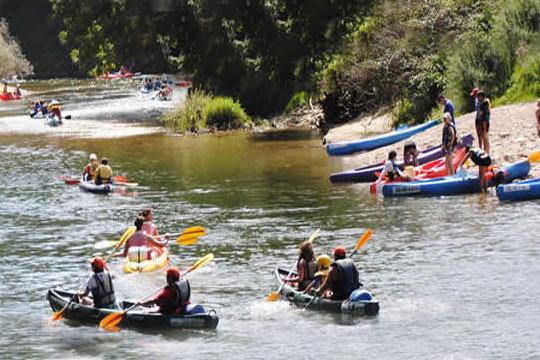 Vive el mítico Descenso del Sella en canoa con todo el material incluido y opción de reponer fuerzas con picnic asturiano ¡Un plan inolvidable!
