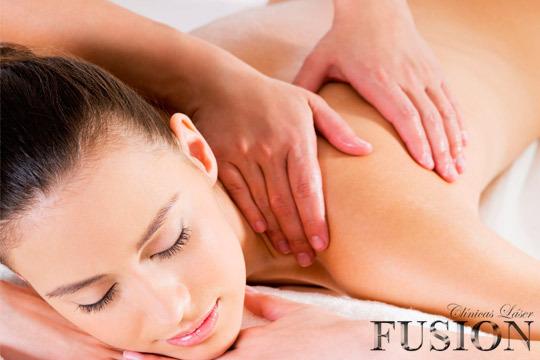 Disfruta de un masaje de 20, 30 o 50 minutos en el centro Láser Fusión Vitoria ¡de nueva apertura!