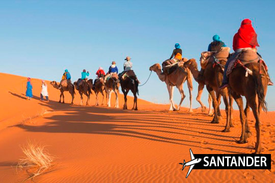 En febrero vuela a Marrakech desde Santander y alójate 3 noches en los lujosos hoteles Riad ¡Desconecta de la rutina!