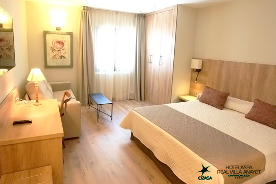 Disfruta de una escapada con encanto al Pirineo Aragonés con 1 o  2 noches con desayuno incluido + circuito Spa en el precioso hotel Real Villa Anayet ¡De 4 estrellas!