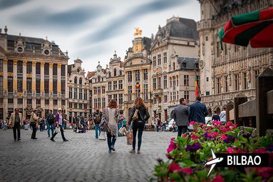 Comienza el año 2019 descubriendo Bruselas con la estancia de 3 noches con desayunos en el hotel Floris Ustel Midi ¡Y con vuelo desde Bilbao!