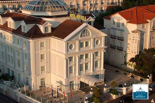 Noche con desayuno + cena +parking en el hotel Hoyuela **** de Santander ¡Una escapada de lujo!