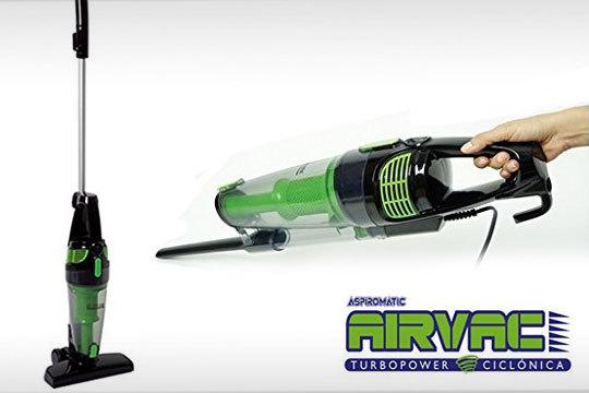 Aspiradora ciclónica sin bolsa AIRVAC