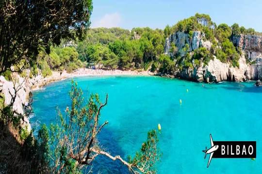 30 de agosto a Menorca: Vuelo de Bilbao + 7 noches en media pensión