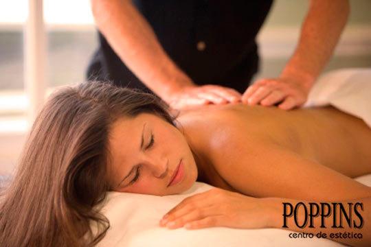 Cuida tu cuerpo con 1, 3, 6 o 10 masajes de espalda o anticelulíticos en el centro Poppins ¡Te sentirás bien, te sentirás guapa!