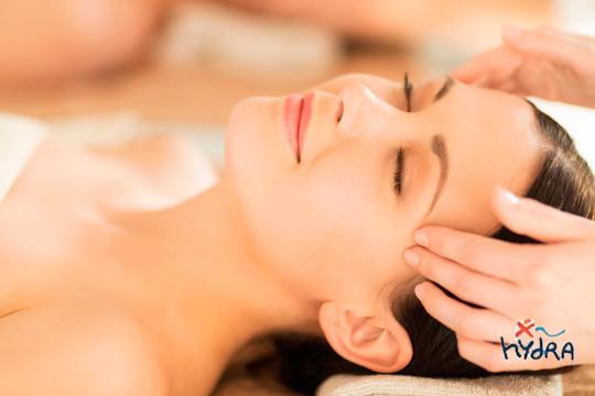 Disfruta de una jornada a tope de relax en Hydra Moyua con un masaje Hidrojet + masaje facial + masaje podal + Spa ilimitado