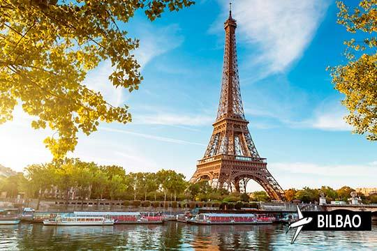 El 6 de diciembre pon rumbo a París para disfrutar de 4 noches de la ciudad de la luz y del amor ¡Con vuelo desde Bilbao!