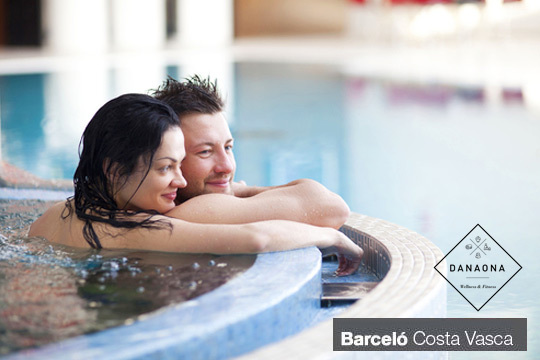 Siente como el bienestar invade tu cuerpo con un Circuito Spa de una hora en el Wellness & Fitness Barceló Costa Vasca ¡Para 1 o 2 personas!