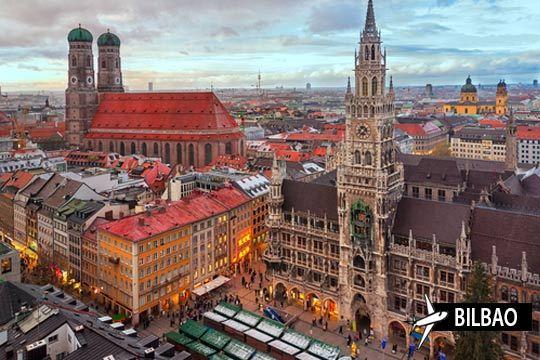 Esta Semana Santa descubre la belleza de Munich, Salzburgo y Núremberg en un circuito de 5 días - 4 noches con vuelo desde Bilbao ¡Te alojarás en un hotel 4*!