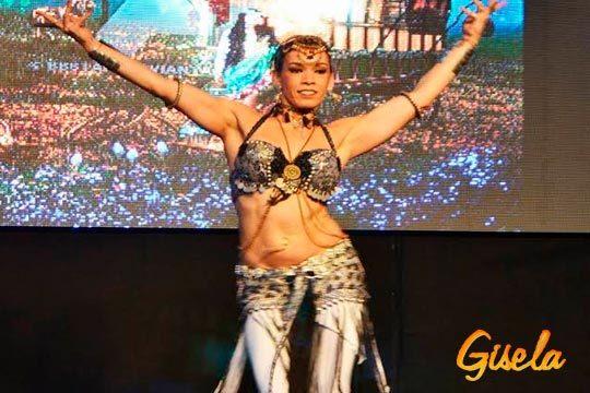 4 clases de baile en Gisela Centro de Danza ¡Elige entre zumba, iniciación al Tribal Fusión, percusamba o iniciación a la danza oriental!