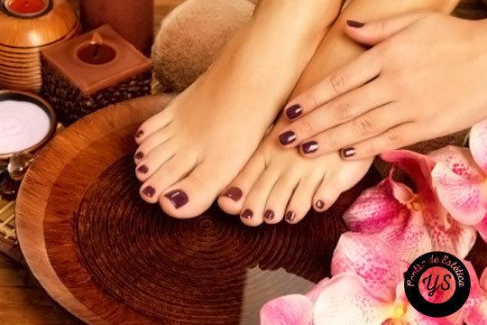 Presume de manos y pies con la manicura y pedicura completa del Centro de Estética Yunia Sauquet ¡Con hidratación y esmalte!