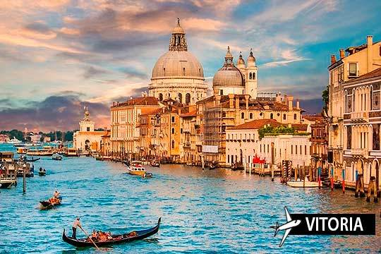 El 6 de diciembre pon rumbo a Venecia ¡Vuelo desde Vitoria-Gasteiz y 4 noches con desayunos en el hotel Al Sole!