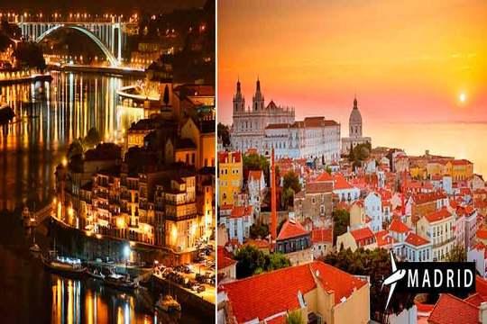 En noviembre descubre Lisboa y Oporto ¡Vuelos + 4 noches + desayuno!