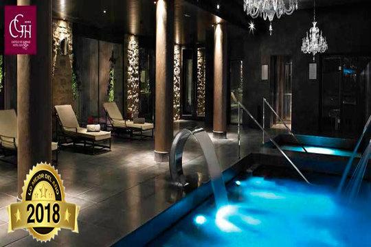 Noche con desayuno y circuito Spa en el hotel Castillo De Gorráiz Golf  & Spa **** ¡Vive una experiencia de lujo en Pamplona!
