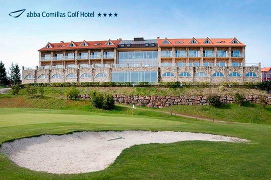 Menú degustación + sesión de spa en el Hotel Abba Comillas Golf ¡Disfruta de las espectaculares vistas sobre el mar y con el horizonte de los Picos de Europa de fondo!