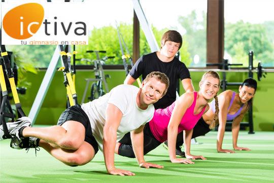 Prepara tu cuerpo este otoño-invierno con 3 o 12 meses de gimnasio online Ictiva desde 13€ ¡El primer gimnasio 2.0 para toda la familia!