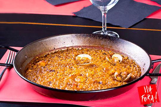 Delicioso menú con sabor catalán en Via Fora ¡Junto al Urumea!