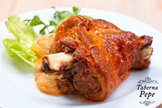 Menú degustación de 5 platos con botella de sidra en Taberna Pepe ¡Un completo menú elaborado con recetas tradicionales!