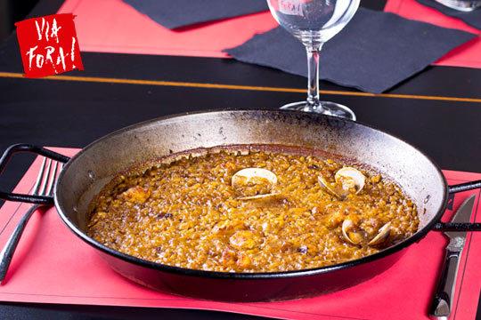 Delicioso menú con sabor catalán en Vía Fora ¡Junto al Urumea!