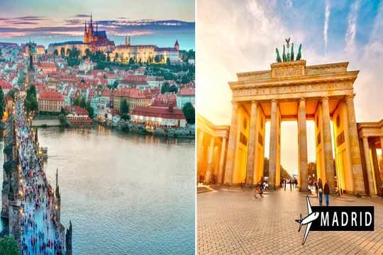 Berlín y Praga: Vuelo desde Madrid + 6 noches con desayuno
