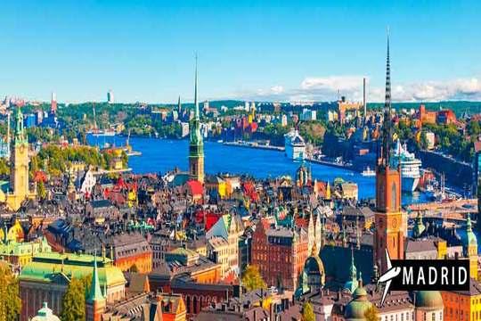 Agosto a Estocolmo desde Madrid: vuelo + 3 noches de hotel + desayuno