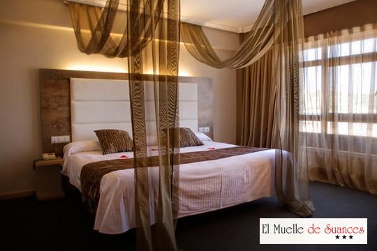 1 o 2 noches con desayuno  + cena en el Hotel El Muelle de Suances ¡Escapada relax a Cantabria!