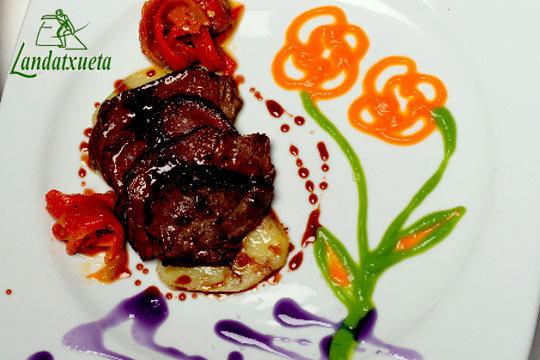 Menú degustación especial invierno en el restaurante Landatxueta (Loiu)