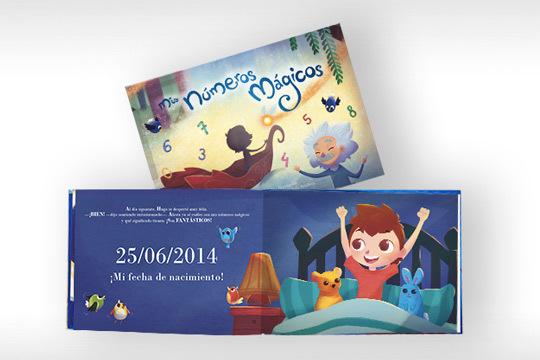 Personaliza tu libro infantil con la fecha de cumpleaños de tu hijo, una aventura que les revelará la magia de las cifras más importantes de su vida ¡Le encantará!