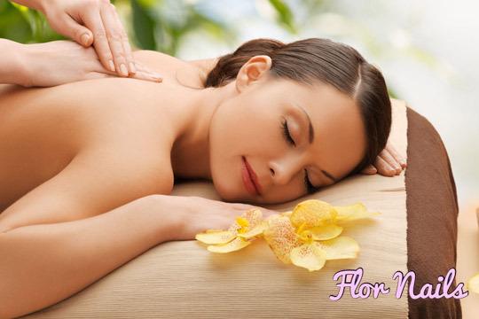 Disfruta de un masaje que mejore tu estado físico en el nuevo local de Nails Flor Estética ¡Descontracturante, relajante o deportivo!