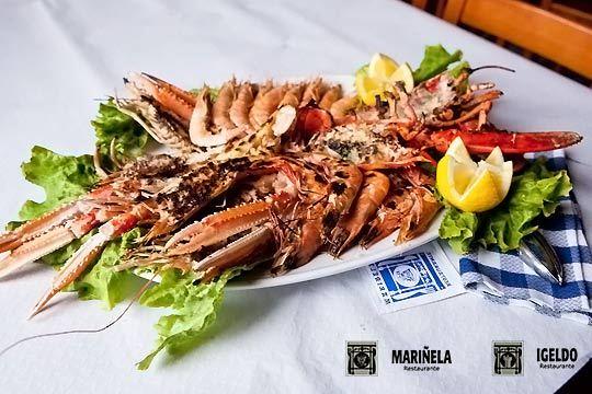 Disfruta de una auténtica mariscada en el restaurante Mariñela-Igeldo del puerto de Donosti