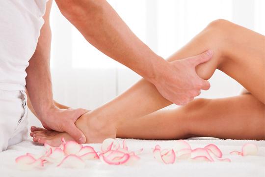 Masaje Circulatorio de piernas con arcillas terapeúticas ¡Alivia la pesadez de piernas y actúa contra la retención de líquidos!