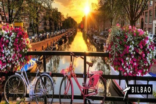 Febrero  y marzo a Ámsterdam: Vuelo desde Bilbao + 3 o 4 noches