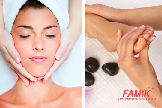 Dedícate una o dos sesiones de belleza y relax con este facial con peeling, sérum y masaje + sesión de reflexología podal ¡El regalo perfecto!