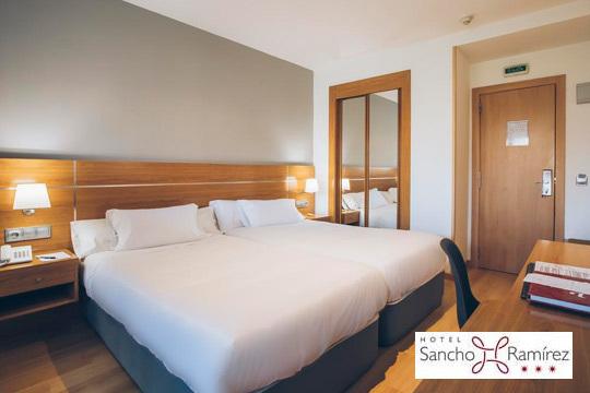 Este año no te pierdas los sanfermines con una noche con desayuno en el hotel Sancho Ramírez ¡Con todas las comodidades!